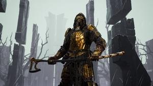 Mortal Shell Knight Video Game Art 5120x2880 Wallpaper