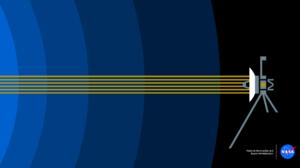 NASA Voyager Heliosphere Minimalism Satellite Spaceship 2560x1440 Wallpaper