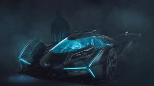 Batman Batmobile Dc Comics 3000x1688 wallpaper