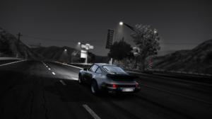 Need For Speed Hot Pursuit Porsche 911 RSR Monochrome 1920x1080 wallpaper