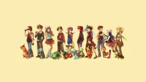 Bulbasaur Pokemon Charmander Pokemon Chikorita Pokemon Chimchar Pokemon Cyndaquil Pokemon Mudkip Pok 1920x1080 Wallpaper