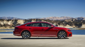 Car Compact Car Red Car Vehicle Volkswagen Volkswagen Arteon 3872x2582 Wallpaper