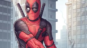 Deadpool Marvel Comics 2800x2332 Wallpaper