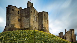 Man Made Warkworth Castle 1920x1200 wallpaper
