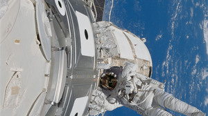 STS 88 Kennedy Space Center NASA Endeavour Space Shuttle Endeavour ISS Space Astronaut 5220x5220 Wallpaper