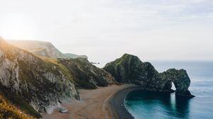 Arch Beach Coastline Horizon Nature Ocean 6000x4000 wallpaper