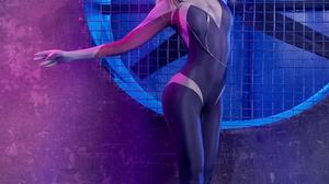 Vera Andreeva Women Model Blonde Bangs Headband Cosplay Gwen Stacy Spider Gwen Costumes Ballerina Ba 2420x3630 Wallpaper