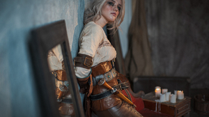 Cosplay The Witcher 3 The Witcher Cirilla Ciri The Witcher Ciri Photography Standing Women Looking A 1300x867 Wallpaper