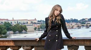 SNSD Taeyeon Kim Taeyeon K Pop Asian Korean Women Singer SNSD Girls Generation 5120x2880 wallpaper
