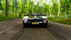 Forza Horizon 4 Pagani Zonda Cinque Pagani Car Vehicle Video Games 1920x1080 Wallpaper
