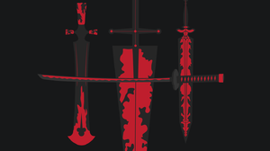 Black Asta Black Clover Kimetsu No Yaiba Katana SwordArtOnline Dark Dark Background Antographics Red 1440x2560 Wallpaper