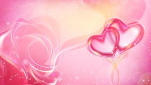 Artistic Heart Pink Pink Rose Rose Sparkles 6000x3857 Wallpaper