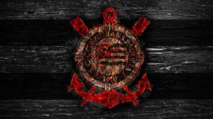 Emblem Logo Sport Club Corinthians Paulista 3840x2400 Wallpaper