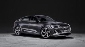 Audi E Tron S Sportback Black Car Car Luxury Car Sedan 3840x2160 Wallpaper