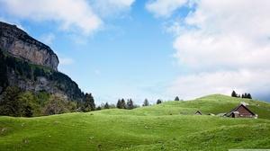 Mountain Switzerland 2560x1440 Wallpaper