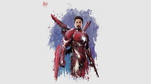 Avengers Infinity War Iron Man Marvel Comics Robert Downey Jr 3840x2160 Wallpaper