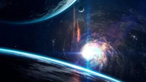 Planetscape Sci Fi Space Star 1920x1199 Wallpaper
