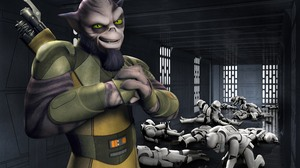 Star Wars Rebels Stormtrooper Zeb Orrelios 4500x3000 Wallpaper