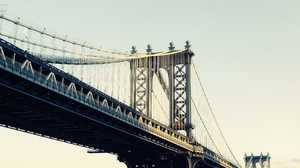 Man Made Manhattan Bridge 2560x1600 Wallpaper