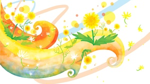 Fashion Flower Spring Style Vector 5000x3500 wallpaper