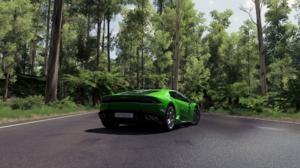 Forza Horizon 3 Lamborghini Huracan Lamborghini Green Cars Vehicle Screen Shot Supercars Car Video G 1920x1080 Wallpaper