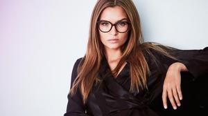 Blue Eyes Danish Glasses Josephine Skriver Model Redhead 3000x1688 Wallpaper