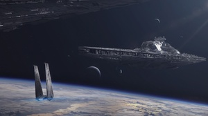 Spaceship Star Destroyer Star Wars 1920x1080 Wallpaper