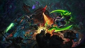 Heroes Of The Storm Sylvanas Windrunner Contests Blizzard Entertainment Illidan Stormrage Diablo Zer 4000x2250 Wallpaper