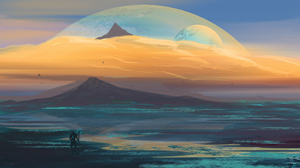 JoeyJazz Space Art Digital 2560x1440 Wallpaper