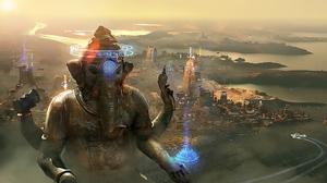 Beyond Good Amp Evil 2 Cyberpunk Futuristic City Sci Fi 1920x1080 Wallpaper