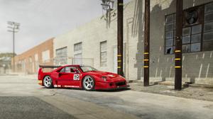 Ferrari Ferrari F40 Race Car Red Car Sport Car 4000x2116 Wallpaper