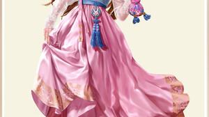 Jungmin Jin Drawing Women Overwatch D Va Overwatch Brunette Long Hair Hair Accessories Face Paint Dr 1920x2713 Wallpaper