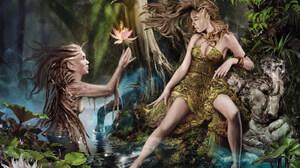 Fantasy Sylvan 1600x1200 wallpaper
