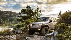 4x4 Car Jeep Jeep Wrangler Jeep Wrangler Rubicon Mid Size Car Off Road Suv Silver Car Vehicle 1920x1200 wallpaper
