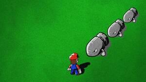 Mario Bullet Bill 1920x1080 Wallpaper