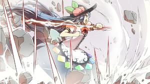 Touhou Hinanawi Tenshi Sword 1892x1000 Wallpaper