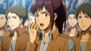 Attack On Titan Sasha Blouse Shingeki No Kyojin 2560x1440 wallpaper