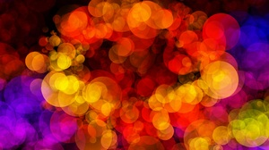 Abstract Artistic Bokeh Circle Colorful Colors 6000x4000 Wallpaper