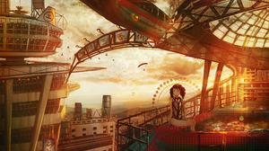 City Girl Sunset 2500x2000 Wallpaper
