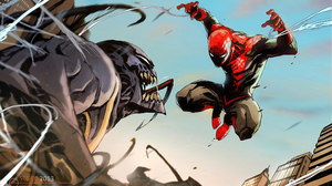 Marvel Comics Spider Man Venom 3840x2531 Wallpaper