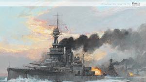 Battleship World War I 1916 Year War Warship Artwork Ship Vehicle Military Vehicle Military 1440x900 Wallpaper