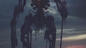 Alexey Egorov Digital Art Fantasy Art Robot Cross 999x1388 wallpaper