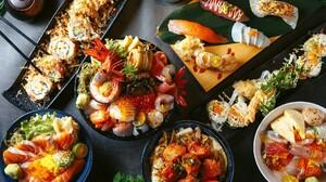 Seafood Still Life Asian Fish 2048x1343 Wallpaper