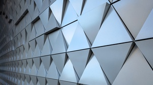 CGi Render Texture Steel Triangle Abstract 6000x4000 Wallpaper