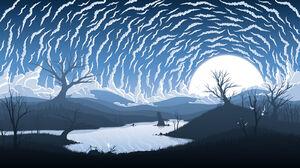 Silhouette Minimalism Fredrik Persson 1600x900 Wallpaper
