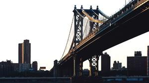 Man Made Manhattan Bridge 4256x2832 Wallpaper