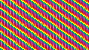 Artistic Colorful Colors Digital Art Pattern Rainbow Square 2866x1743 Wallpaper