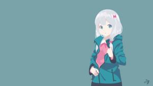 Eromanga Sensei Anime Girls Izumi Sagiri 3840x2160 Wallpaper