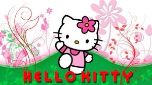 Hello Kitty 1360x768 Wallpaper