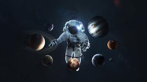 Sci Fi Astronaut 1920x1200 Wallpaper